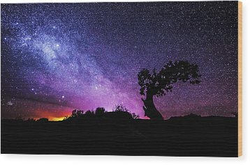 Moab Skies Wood Print