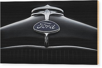 Wood Print featuring the digital art Model A Ford by Douglas Pittman