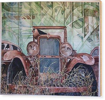 Model A Wood Print by Lance Wurst