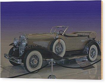 Model J Lebaron Phaeton Wood Print