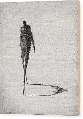 Moderate Wood Print by Valdas Misevicius