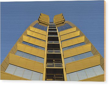 Modern W Hotel Barcelona Spain Wood Print by Marek Stepan