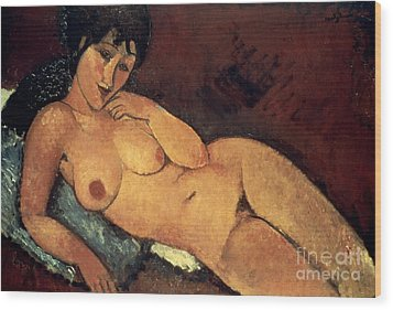 Modigliani: Nude, 1917 Wood Print by Granger