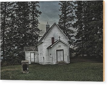 Wood Print featuring the photograph Mohilla Church by Ryan Crouse