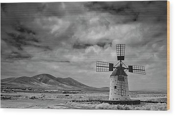 Molino De Cotillo Wood Print by Martin Zalba is a photographer looking for a personal look,