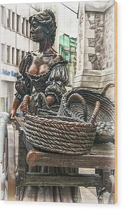 Wood Print featuring the photograph Molly Malone by Hanny Heim