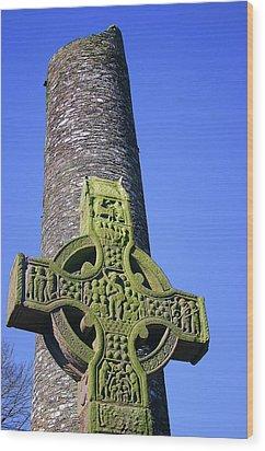 Monasterboice Wood Print by Martina Fagan