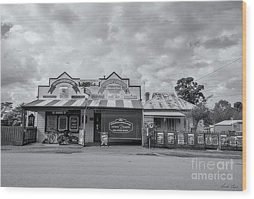 Wood Print featuring the photograph Monegeetta General Store by Linda Lees