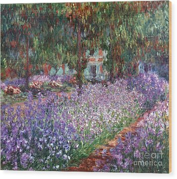 Monet: Giverny, 1900 Wood Print by Granger