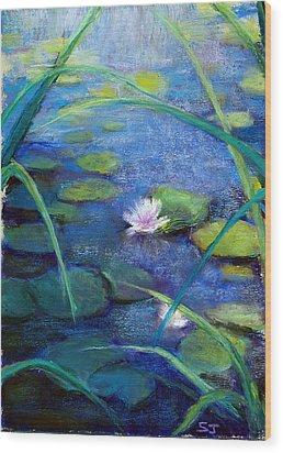 Monets Garden Wood Print by Susan Jenkins