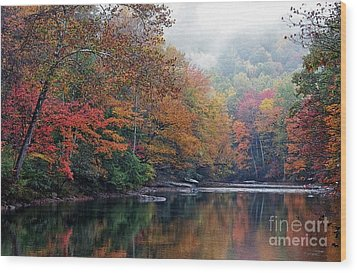 Monongahela National Forest Wood Print