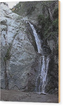 Monrovia Canyon Falls Wood Print by Viktor Savchenko
