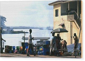 Monrovia Liberia 1971 Wood Print