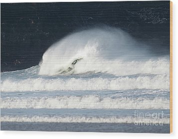 Wood Print featuring the photograph Monster Wave by Nicholas Burningham