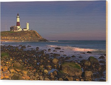 Montauk Lighthouse Wood Print