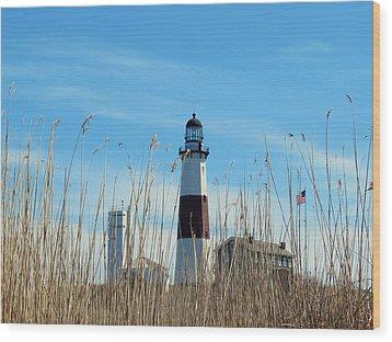 Montauk Point Lighthouse-3 Wood Print
