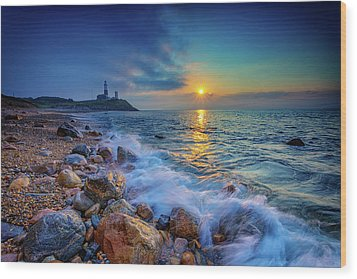 Montauk Sunrise Wood Print