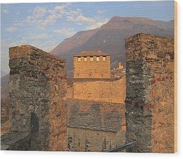 Montebello - Bellinzona, Switzerland Wood Print