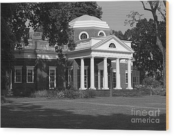 Monticello IIi Wood Print by Eric Liller
