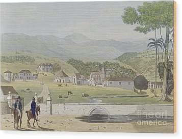 Montpelier Estates - St James Wood Print by James Hakewill