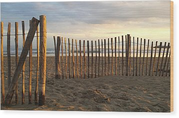 Montpellier France Beach  Wood Print by Beryllium Photography