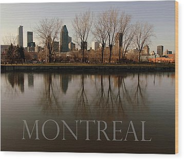 Montreal Wood Print by Robert Knight