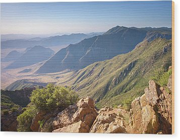 Wood Print featuring the photograph Monument Peak View 1 by Alexander Kunz