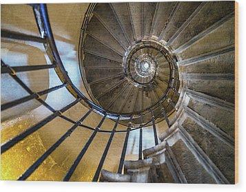 Monument Stairs Wood Print by Jae Mishra