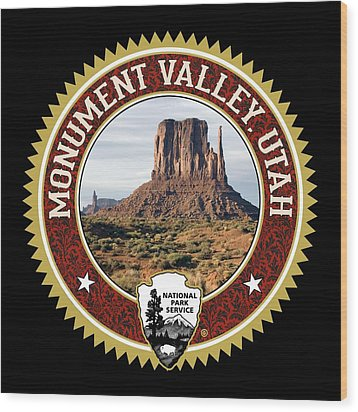 Monument Valley Wood Print by Gary Grayson
