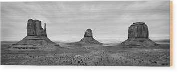 Monument Valley Wood Print by Mike McGlothlen