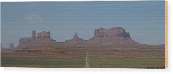 Wood Print featuring the photograph Monument Valley Navajo Tribal Park by Christopher Kirby