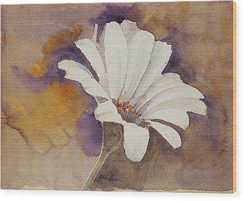 Mood Flower Wood Print by Gretchen Bjornson