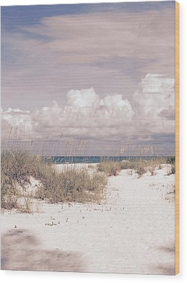 Anna Maria Island Moods Of June Wood Print by Jean Marie Maggi