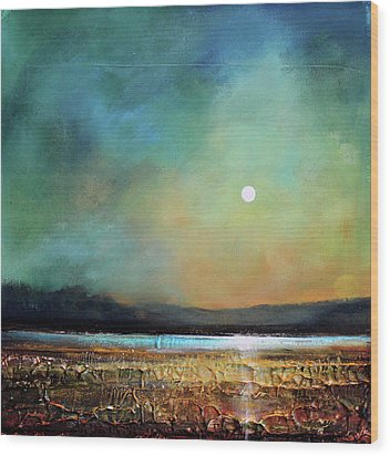 Moody Light Wood Print by Toni Grote