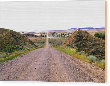 Moon Creek Heavy Traffic Wood Print