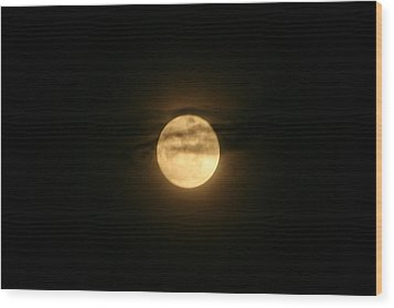 Wood Print featuring the digital art Moon Dance by Barbara S Nickerson