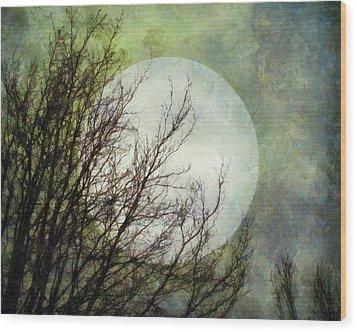 Moon Dream Wood Print by Patricia Strand