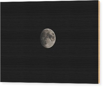 Moon Glow Wood Print by Eric Liller