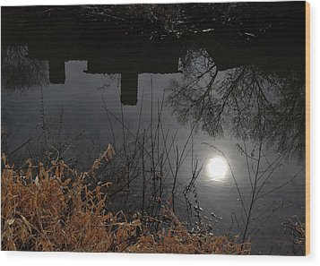 Wood Print featuring the photograph Moon Lake by Larry Bishop