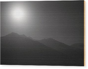 Moon Night Wood Print by Konstantin Dikovsky
