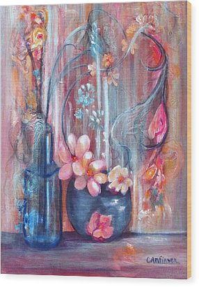 Moonlight Magic Wood Print