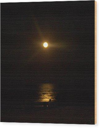 Moonlight Magic Wood Print by Patricia Taylor
