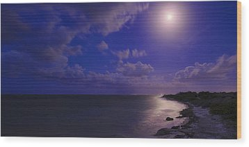 Moonlight Sonata Wood Print by Chad Dutson