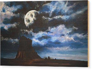 Moonrise IIi Wood Print by Amy Williams