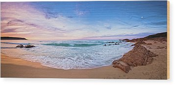 Wood Print featuring the photograph Bunker Bay Sunset, Margaret River by Dave Catley