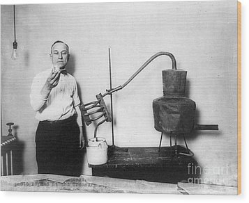 Moonshine Distillery, 1920s Wood Print by Granger