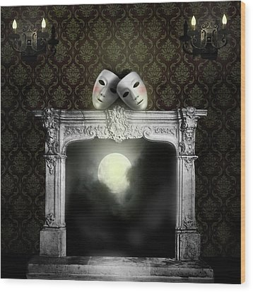 Moonstruck Wood Print by Larry Butterworth