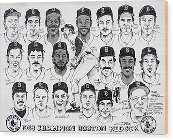 Morgan Magic And The East Championship Newspaper Poster Wood Print by Dave Olsen