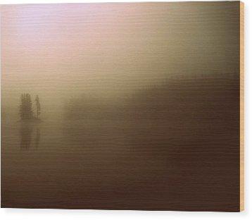 Morn Wood Print