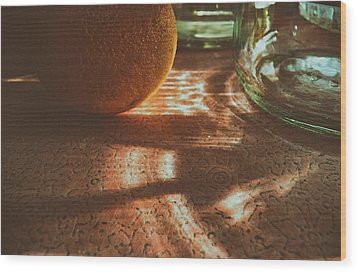 Wood Print featuring the photograph Morning Detail by Steven Huszar